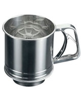 Flour Sifter Stainless Steel 400 g - Metaltex