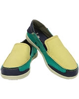 Women's Walu Express Buttercup/Tropical Teal 201181 - Crocs