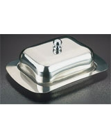 Butter Plate With Cover - Metaltex