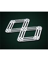Expandable stainless steel Trivet - Metaltex