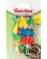 Set Of 10 Sticks - Metaltex