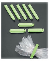Set of 7 Small Bag Clips - Metaltex