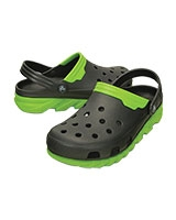 Men's Duet Max Clog Graphite/Volt Green 201398 - Crocs