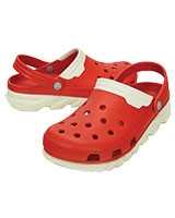 Men's Duet Max Clog Flame/White 201398 - Crocs