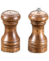 Set Of 2 Salt & Pepper Mills 11 cm - Metaltex