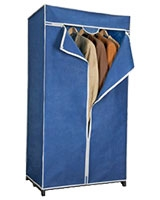 Airy Wardrobe Blue Large - Metaltex