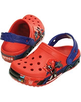 Kids' Crocband Transformers Optimus Prime Clog Flame/Cerulean Blue 201812 - Crocs