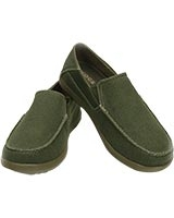 Men's Santa Cruz 2 Luxe Loafer Army Green/Khaki 202056 - Crocs