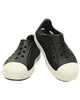 Kids' Crocs Bump It Shoe Black/Oyster 202281 - Crocs