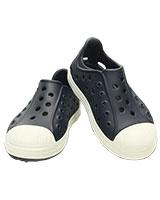 Kids' Crocs Bump It Shoe Navy/Oyster 202281 - Crocs