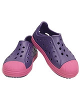 Kids' Crocs Bump It Shoe Blue Violet 202281 - Crocs