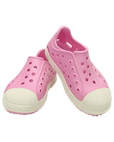 Kids' Crocs Bump It Shoe Carnation/Oyster 202281 - Crocs