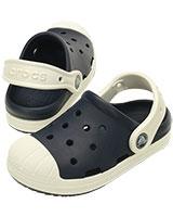 Kids' Crocs Bump It Clog Navy/Oyster 202282 - Crocs