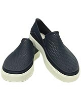Women's CitiLane Roka Slip-on Navy/White 202363 - Crocs