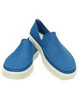 Women's CitiLane Roka Slip-on Ultramarine/White 202363 - Crocs