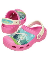 Kids' Creative Frozen™ Fever Clog Party Pink/Oyster 202706 - Crocs