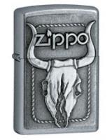 Bull Skull Emblem 20286 - Zippo