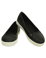 Women's CitiLane Flat Black/White 202923 - Crocs