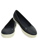 Women's CitiLane Flat Navy/White 202923 - Crocs