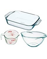 Set of 3 Assorted - Collector Set - Pyrex