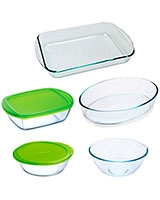 Set 5 Pcs Assorted - Pyrex