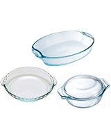 Set 4 Pcs Assorted - Pyrex