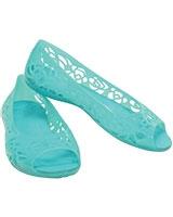 Kids' Isabella Jelly GS Pool Flat 203282 - Crocs