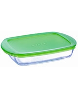 Rectangular Dish With Lid 23 cm - Pyrex