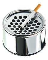 Ashtray Silver - Coney