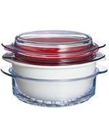 Multi Cook Vitroceramic White 2.5 L - Pyrex