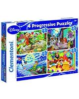 4 in 1 Puzzle Classic 12 + 20 + 24 + 35 - Clementoni
