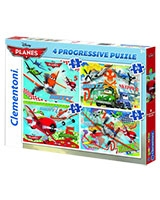 4 in 1 Puzzle Planes 12 + 20 + 24 + 35 - Clementoni