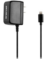 5V/1A Apple Lightning Connector Black AC Charger - Enercell