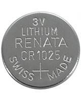 3V/30mAh Lithium Coin Cell Battery CR1025 - Radioshack