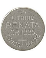 3V Lithium Coin Cell Battery CR1225 - Radioshack