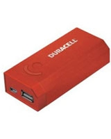 Duracell DU7180 4000mAh Portable Power Bank Red