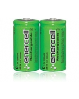 "Enercell® 1.2V/3500mAH Ni-MH ""C"" Rechargeable Batteries 2-Pack - RadioShack"