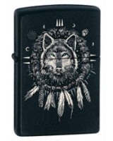 American Hardcore® Wolf 24765 - Zippo
