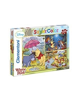 Puzzle 3 x 48 Winnie The Pooh - Clementoni