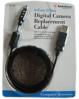 4 Pin Digital Camera Cable Cord - RadioShack
