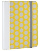 "Universal Folio For 8.9-10.1"" Tablets Yellow/Grey - RadioShack"
