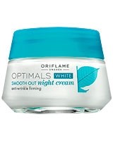 Optimals White Smooth Out Night Cream - Oriflame