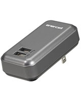 5V/3.1A AC Dual USB Charger - Enercell