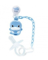 Pacifier Clip & Holder + Pacifier 0-6 Months KU5332 - ku-ku