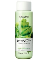Love Nature Cleansing Gel Aloe Vera - Oriflame