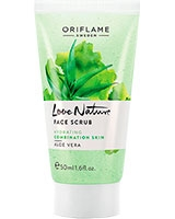Love Nature Face Scrub Aloe Vera - Oriflame