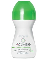 Activelle Green Tea Fresh Anti-perspirant 24h Deodorant - Oriflame
