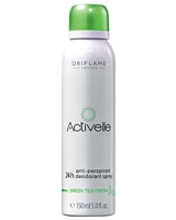 Activelle Green Tea Fresh Anti-perspirant 24h Deodorant Spray - Oriflame