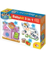 Baby Gnius Kit 3 In 1 - Lisciani Goichi