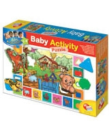 Baby Genius Activity Puzzlee Farm - Lisciani Goichi